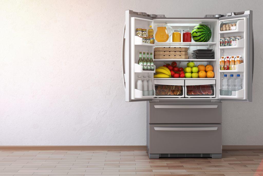 Americká chladnička s mrazničkou