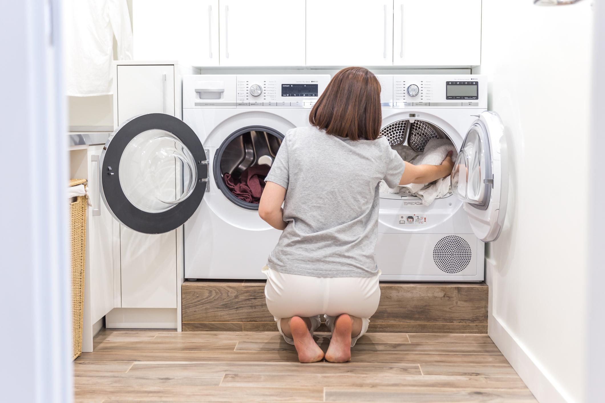 Práčka a sušička bielizne